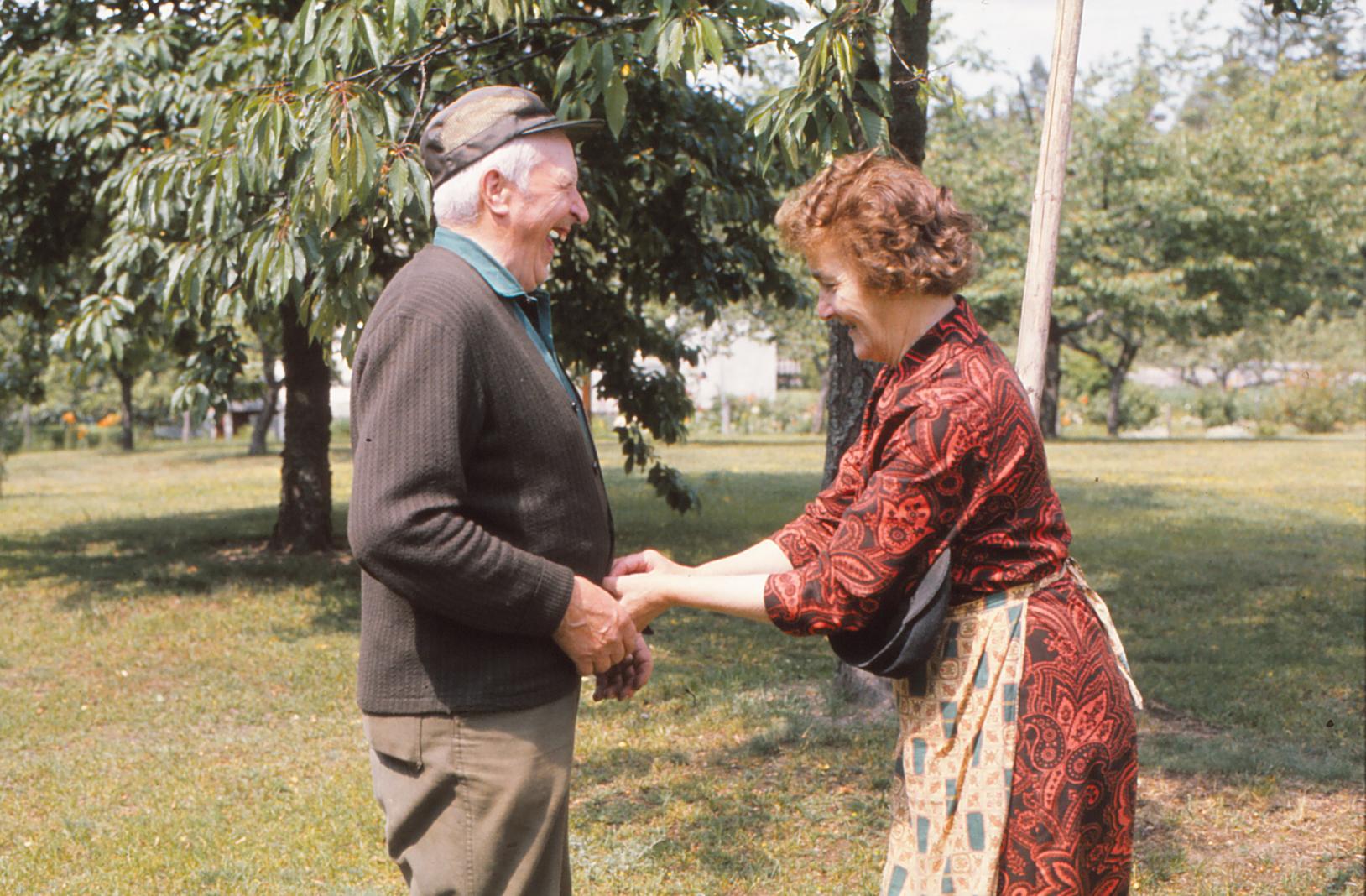 Berta och Sture Blomdell